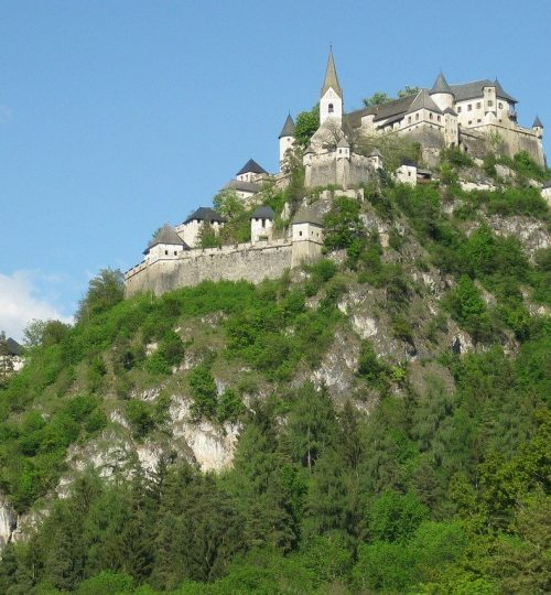 castle, hochosterwitz, fortress